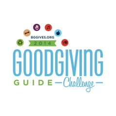 We're excited to be part of the 2014 Good Giving Challenge, November 3 - December 12, 2014.  Help close our $25,000 funding gap in 2014!