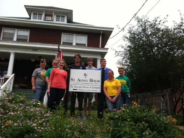 Future Farmers of America (FFA)  Volunteer at St. Agnes' House