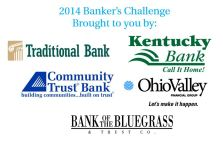 Thanks to these banks for the $15,000 match for the Banker's Challenge.