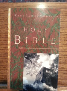 Mr. Earl Gill donated these Bibles for us to distribute.