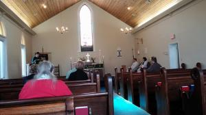 Your prayers are absolutely necessary for the guests and ministry of St. Agnes' House.   Sunday Morning at St. John's Church, Corbin, KY.