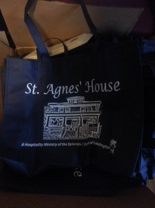 Our new guest tote bags.  Thanks Emily Cardwell for working on this project!  Guests LOVE them!